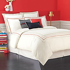 kate spade new york Brightwater Avenue Duvet Cover, 100% Cotton