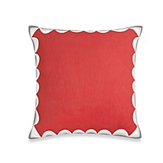 kate spade Brightwater Avenue Rose Square Toss Pillow