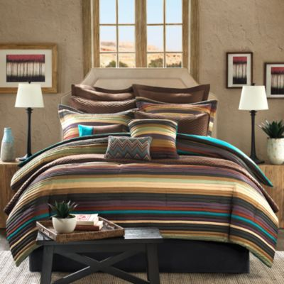 Tahoe 12-Piece Queen Comforter Superset