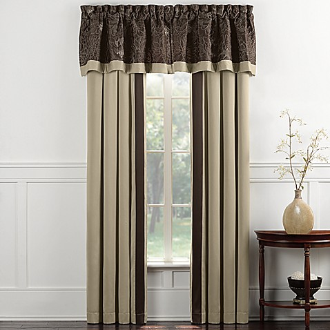 Blair Eggplant Window Valance