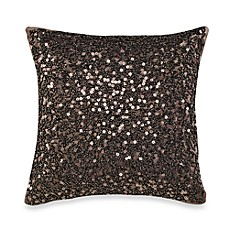 Palais Royale Droplets 12-Inch Square Throw Pillow