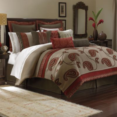 Bombay™ Bali 4-Piece Full Comforter Set
