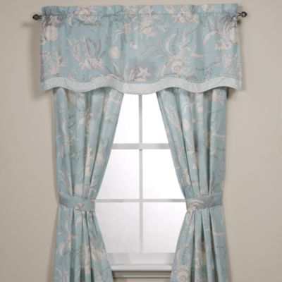Royal Heritage Home® Window Valance in Sea Cottage