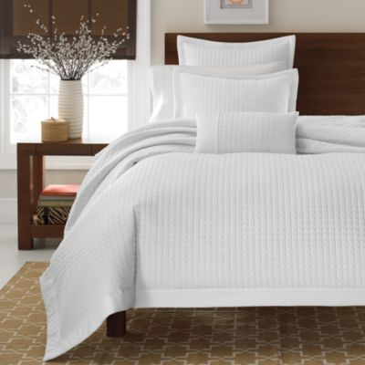 Real Simple® Retreat White Twin Duvet Cover