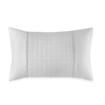 Real Simple® Retreat Oblong Toss Pillow in White