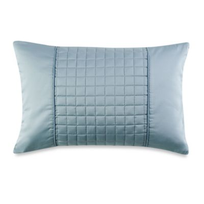 Real Simple® Retreat Oblong Toss Pillow in Azure
