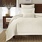 Real Simple® Retreat Duvet Cover, 100% Cotton Sateen, 300 Thread Count - Ivory
