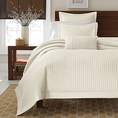 Real Simple® Retreat Twin Duvet Cover in Ivory