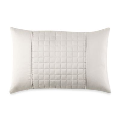 Real Simple® Retreat Oblong Throw Pillow in Ivory