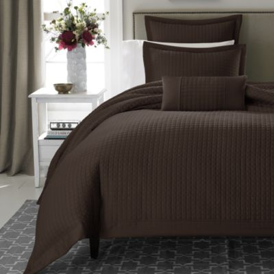 Real Simple® Retreat European Pillow Sham in Chocolate