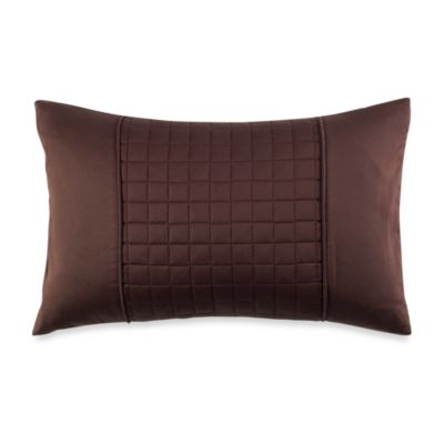 Real Simple® Retreat Oblong Toss Pillow in Chocolate