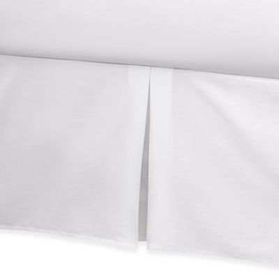 Real Simple® Retreat California King Bed Skirt in White