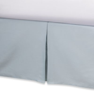 Real Simple® Retreat California King Bed Skirt in Azure