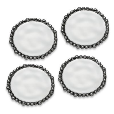 Lenox® Organics Metal Bead Coasters (Set of 4)