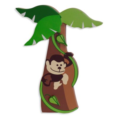 Studio Arts Kids Jungle Room Wall Plaque