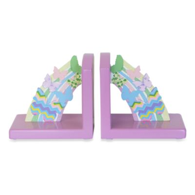Studio Arts Kids Free to Fly Printed Wooden Bookends