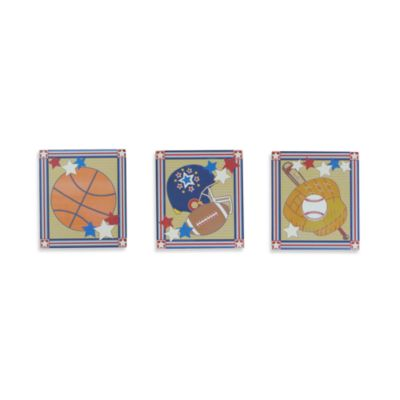 Studio Arts Kids Way to Go 3-Piece Hook Set