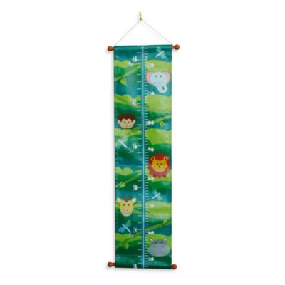 Studio Arts Kids Jungle Room Printed Fabric Growth Chart