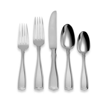 Oneida® Carolina 75-Piece Stainless Steel Flatware Set