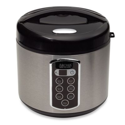 Aroma®Sensor Logic® 20-Cup Rice Cooker and Food Steamer