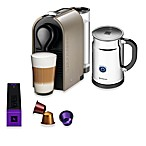 Nespresso® U Espresso Maker and Aeroccino Plus Bundle in Pure Grey