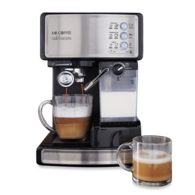 Coffee Maker Barista : Mr. Coffee Cafe Barista BVMC-ECMP1000 Espresso Maker - www.BedBathandBeyond.com
