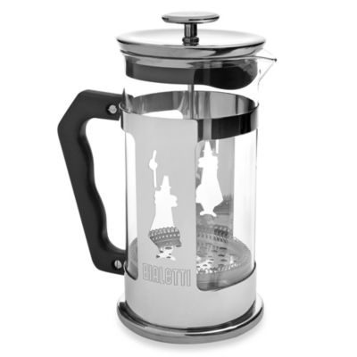 Chrome Glass French Press