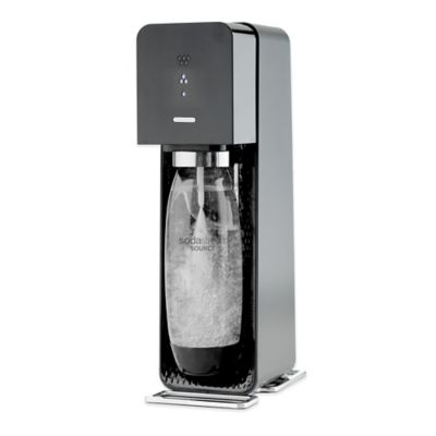 SodaStream® SOURCE™ Sparkling Beverage Maker Starter Kit in Black
