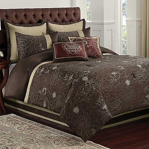 Blair Eggplant Comforter Set Bed Bath Amp Beyond