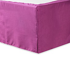 Nostalgia Home Fashions™ Pickstitch Bed Skirt in Berry
