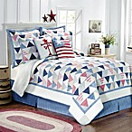 Triangle Stripe Quilt