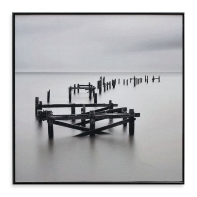 All That Remains 13-Inch x 13-Inch Beach Photo Art