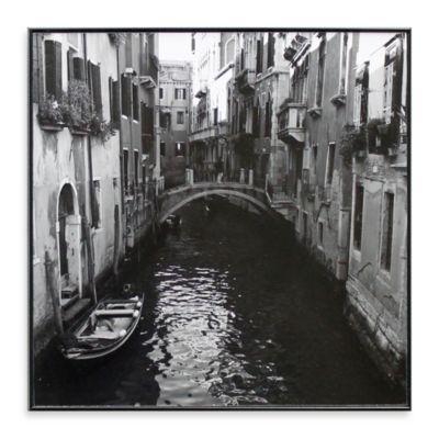 Venice Canal 13-Inch x 13-Inch Photo Print