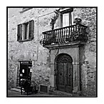 Italian Balcony and Door 13-Inch x 13-Inch Photo Art