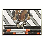 Airborne 26-Inch x 38-Inch Horse Photo Art