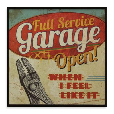 Garage Signs Decor
