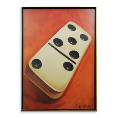 Domino 26-Inch x 38-Inch Wall Art