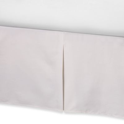 Real Simple® Retreat Bed Skirt in Ivory