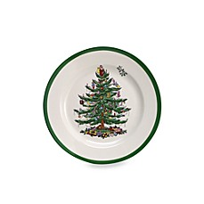Spode® Christmas Tree Salad Plates (Set of 4)