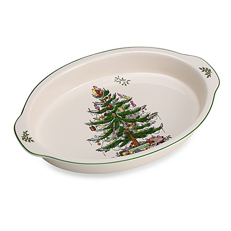Buy Spode Christmas Tree 14 Inch Au Gratin Dish From Bed Bath Beyond