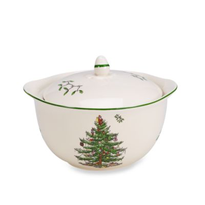 Spode® Christmas Tree 4-Inch Individual Casserole with Handles