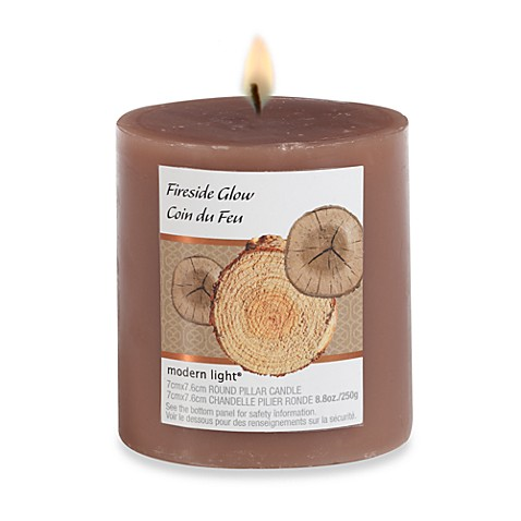 Modern Light® 8.8-Ounce Scented Candle - Fireside Glow