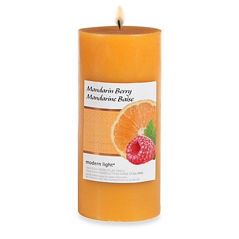 Modern Light® 17.5-Ounce Scented Candle - Mandarin Berry