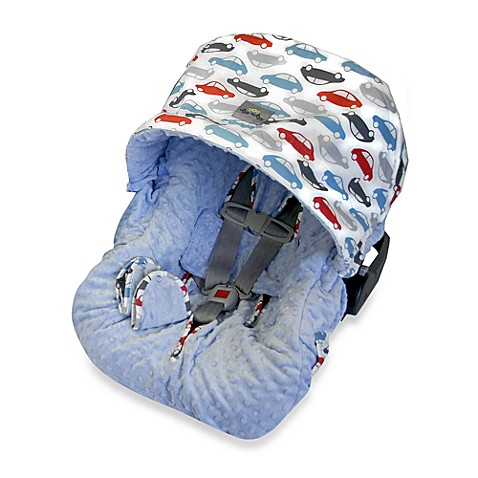Itzy Ritzy Baby Ritzy Rider Infant Car Seat Cover in Rodeo Drive