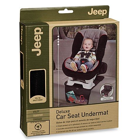 J is for Jeep® Baby Gear Deluxe Car Seat Undermat