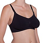Cantaloop® Seamless Adjustable Nursing Bra Black