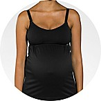 Cantaloop® Pregnancy and Nursing Tank in Black