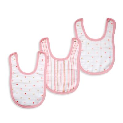 aden® by aden + anais® 3-Pack Bib Set in Oh Girl