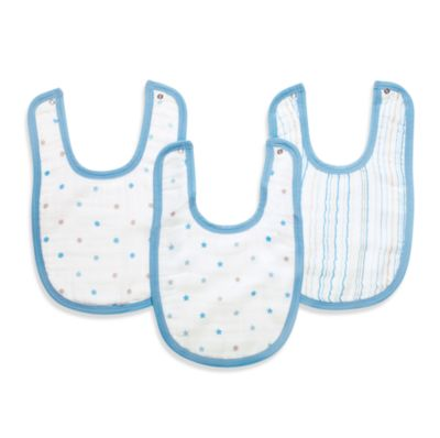 aden™ by aden + anais® 3-Pack Bib Set in Oh Boy