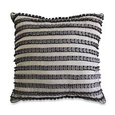 Nostalgia Home™ Grosgrain Ribbon Square Throw Pillow
